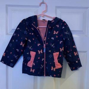 Cherokee hooded rain jacket.